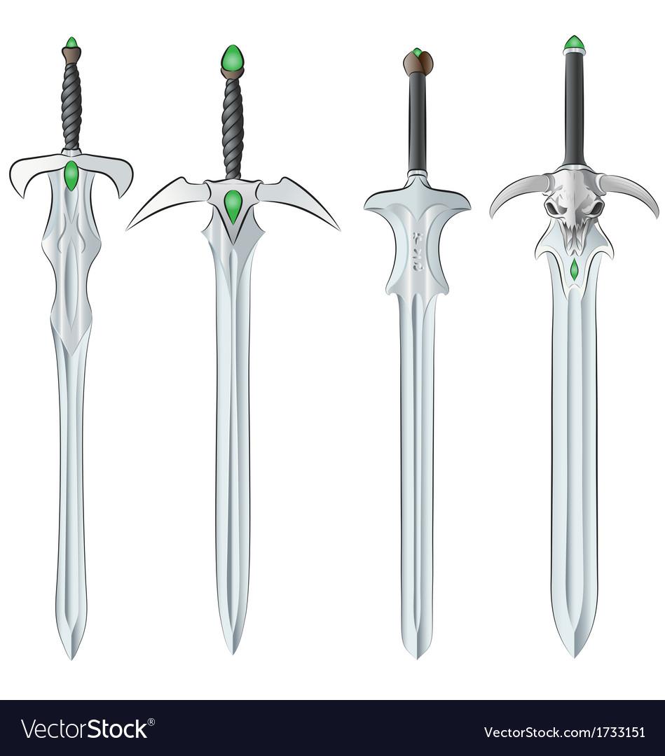 Set of swords vector | Price: 1 Credit (USD $1)