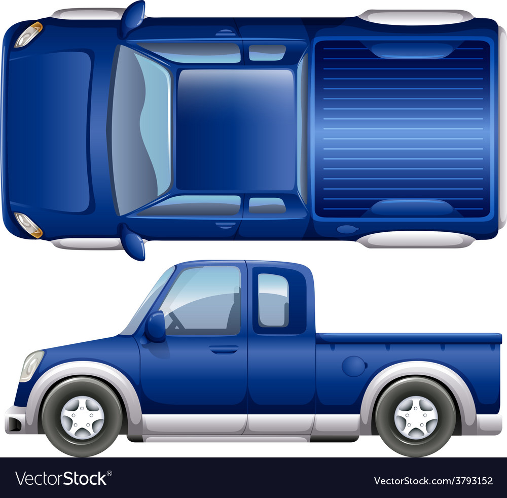 A blue vehicle vector   Price: 1 Credit (USD $1)