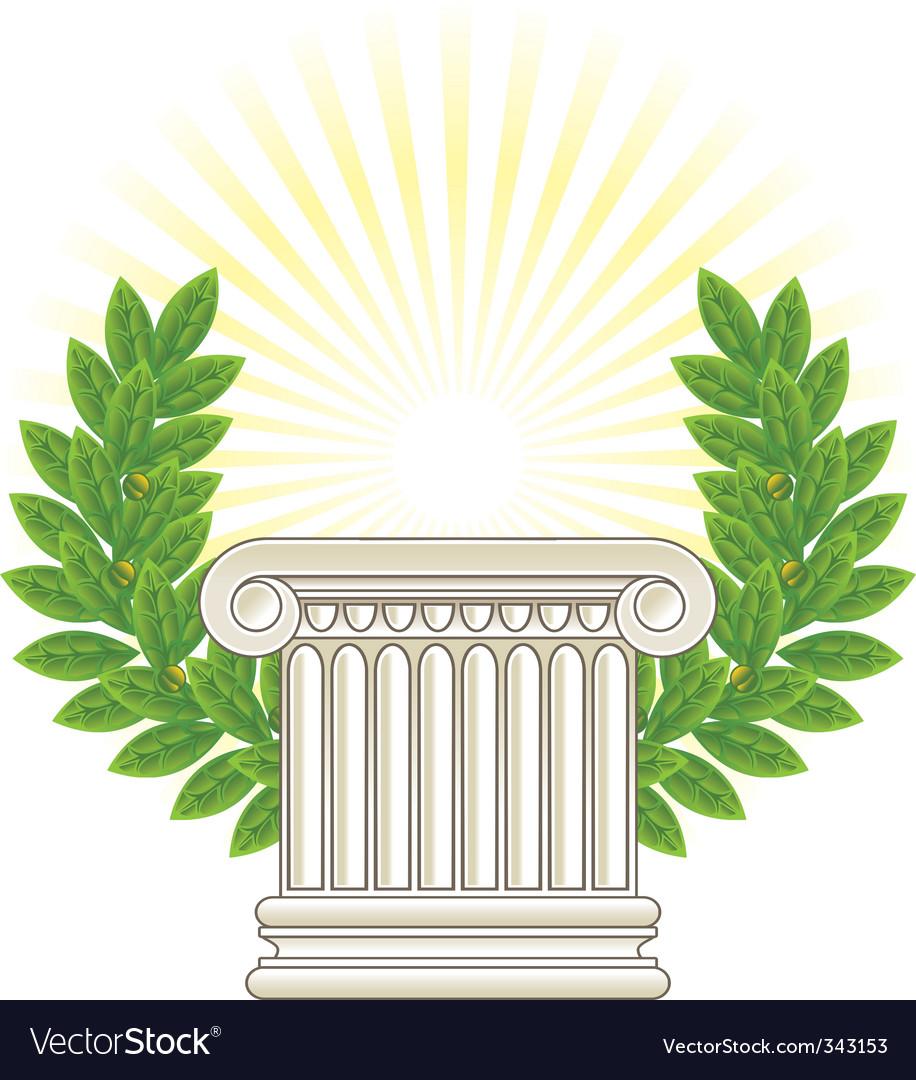Greek column vector | Price: 1 Credit (USD $1)