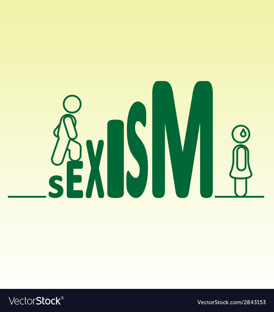 Sexism vector | Price: 1 Credit (USD $1)