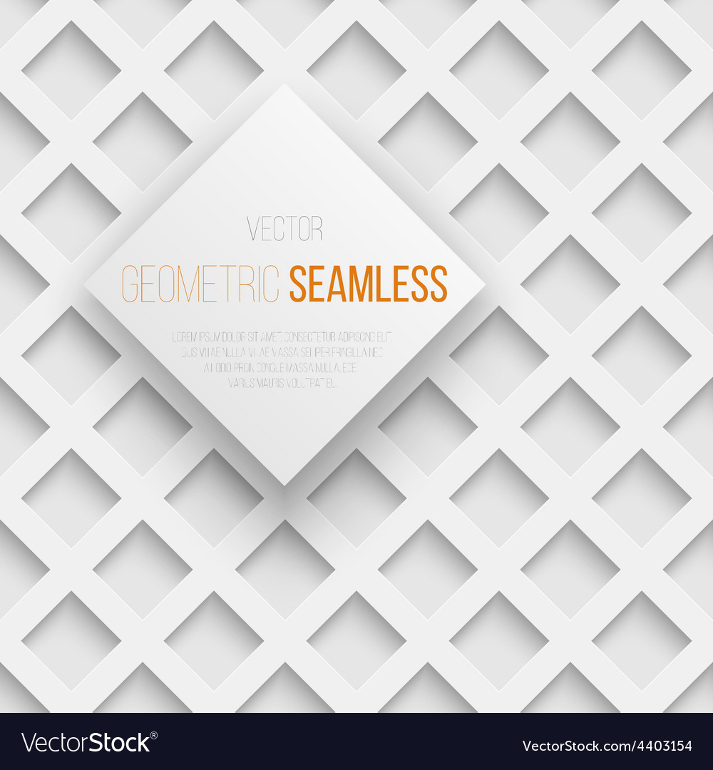 Abstract seamless geometric square pattern with vector | Price: 1 Credit (USD $1)