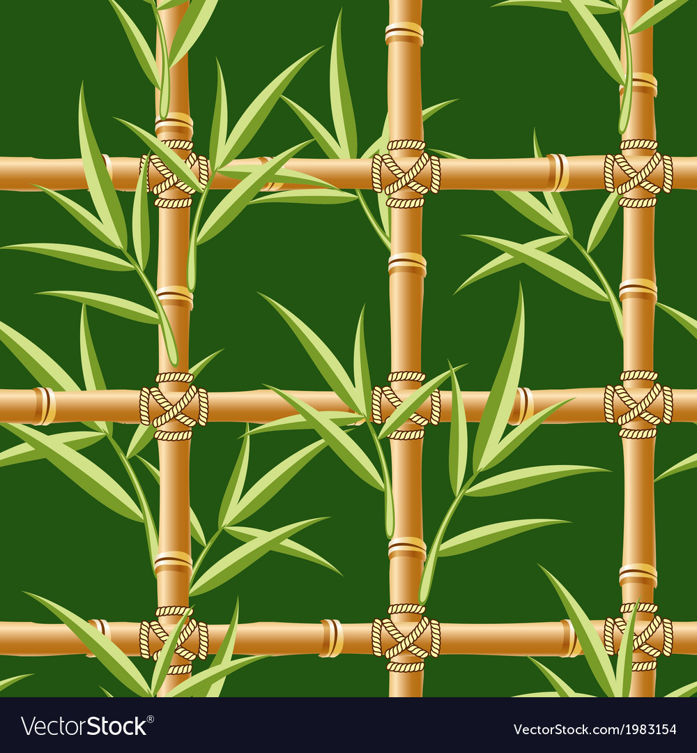 Bamboo seamless vector | Price: 1 Credit (USD $1)