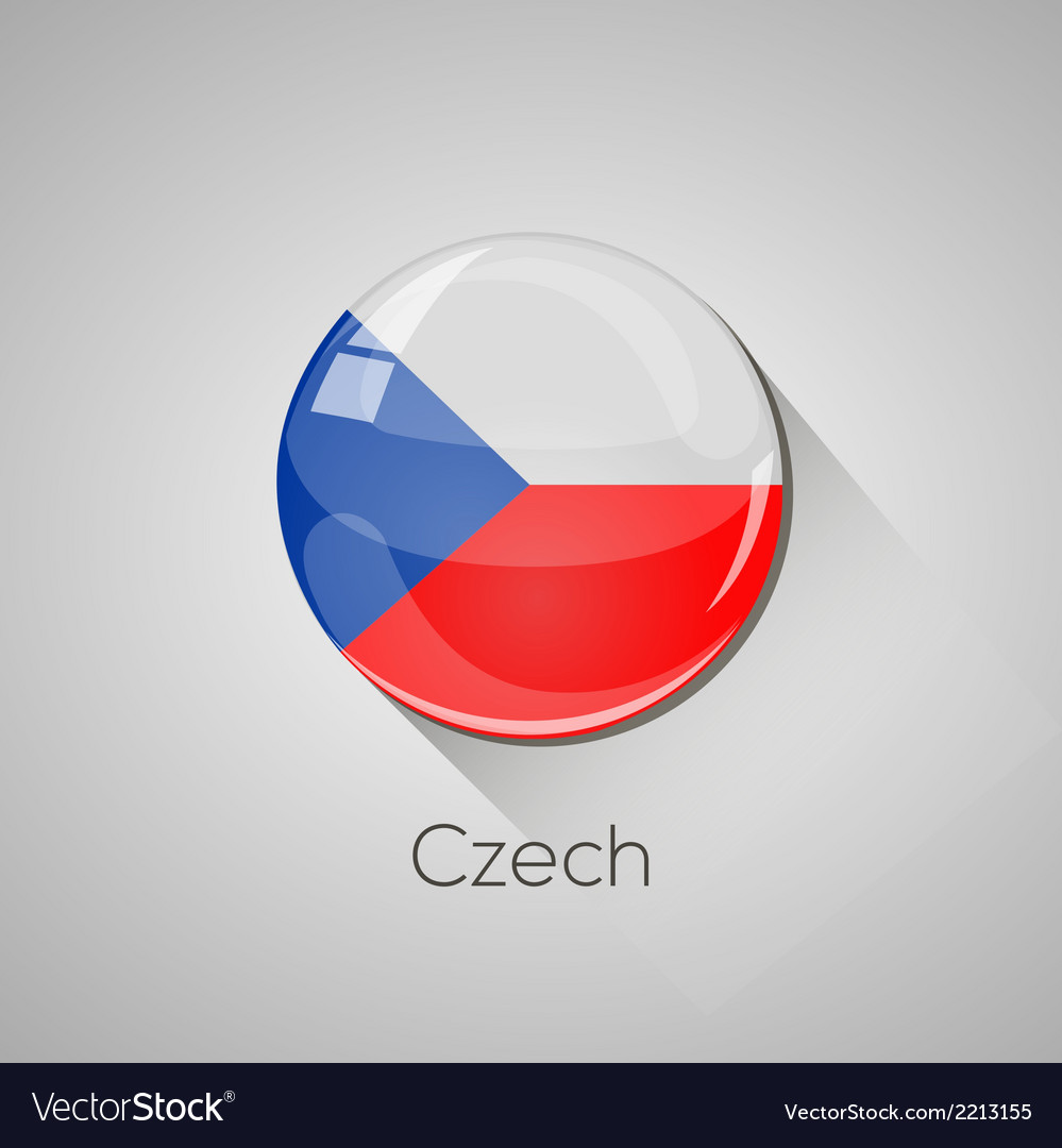 European flags set - czech vector | Price: 1 Credit (USD $1)