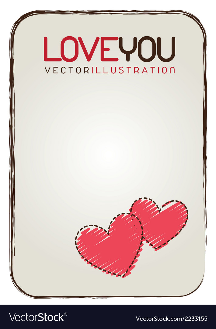 Love card vector | Price: 1 Credit (USD $1)