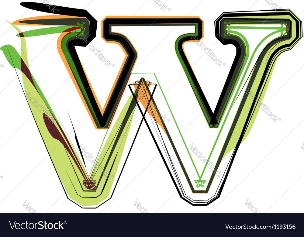 Organic font vector | Price: 1 Credit (USD $1)