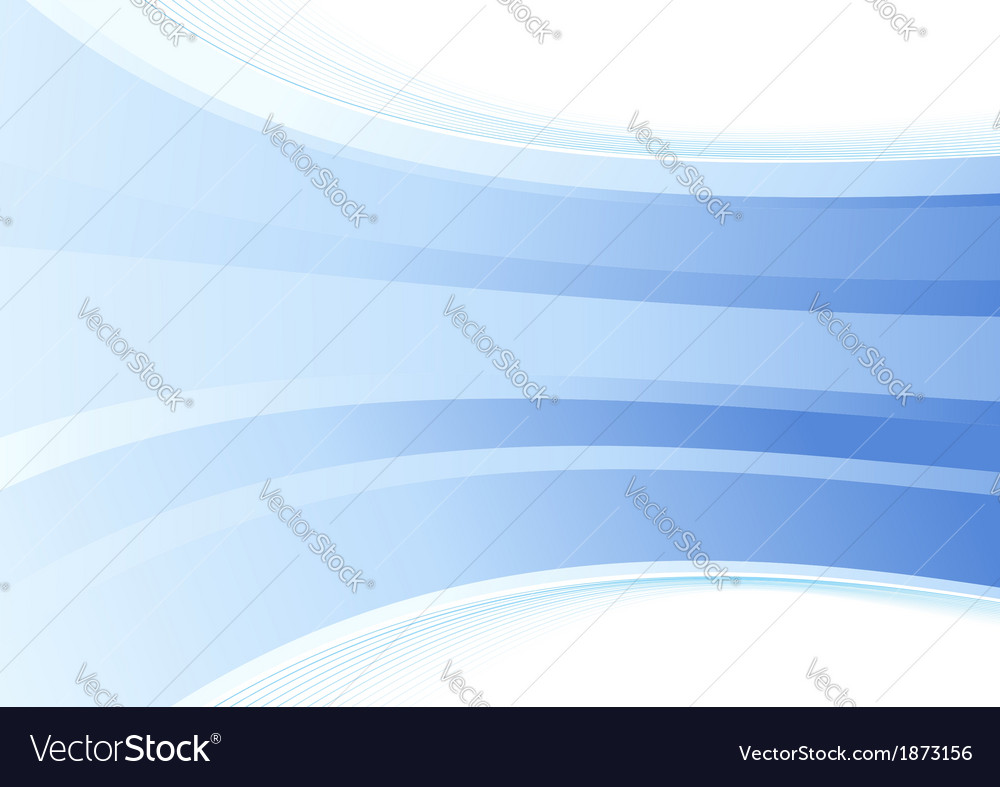 Smooth blue wave background vector | Price: 1 Credit (USD $1)