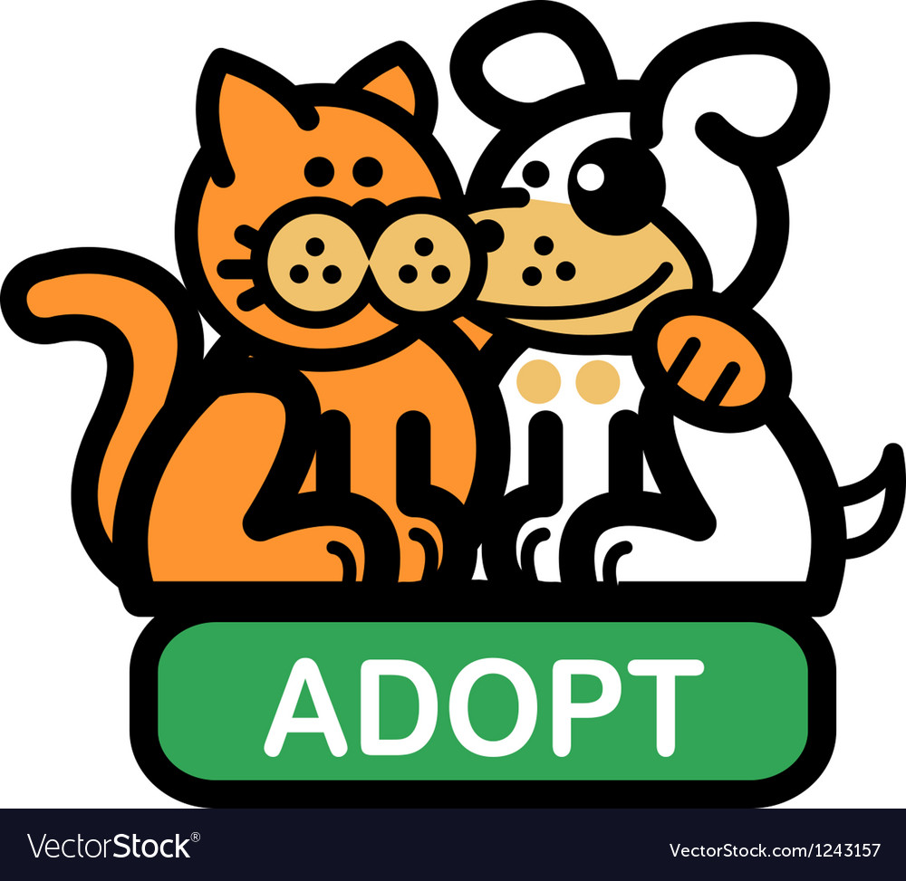 Adopt a pet vector | Price: 1 Credit (USD $1)