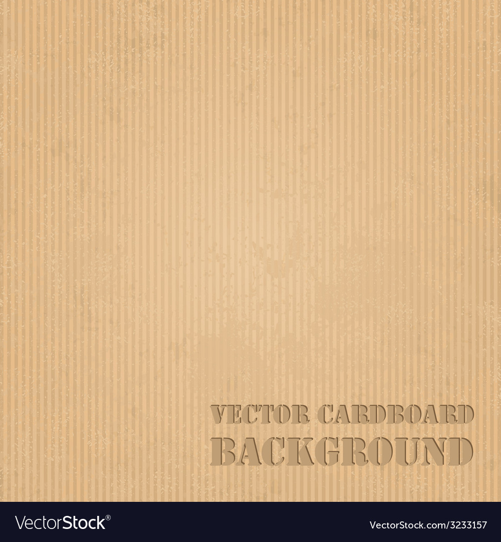 Cardboard grunge paper texture background vector | Price: 1 Credit (USD $1)