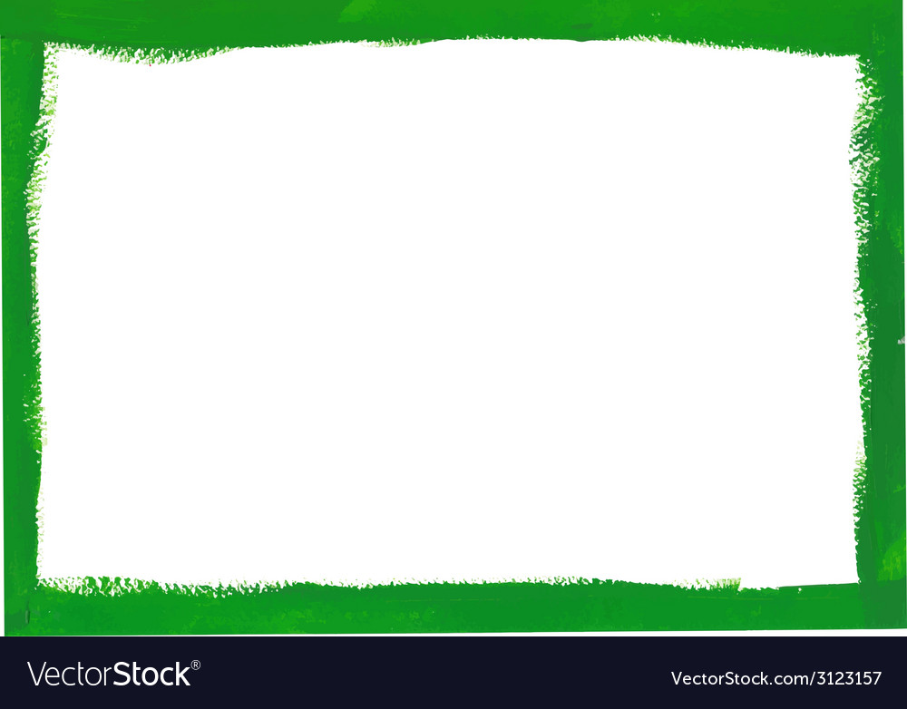 Green grunge frame vector | Price: 1 Credit (USD $1)