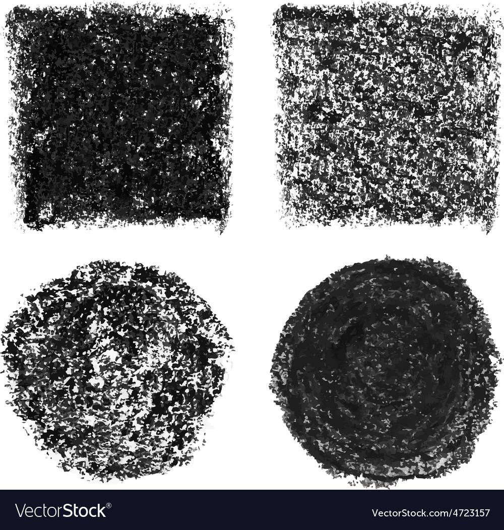 Oil pastel elements vector | Price: 1 Credit (USD $1)