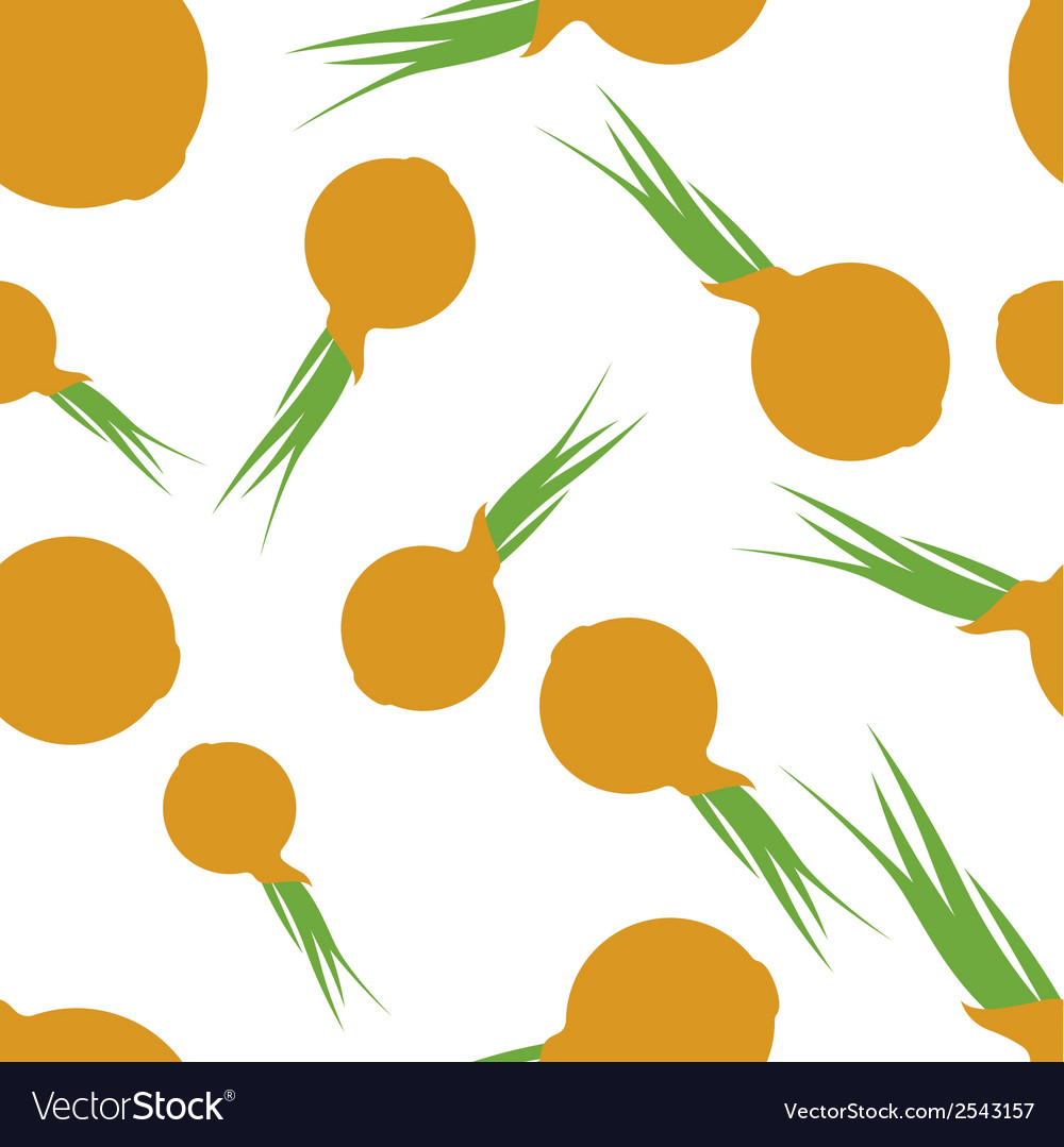 Pattern silhouette onion vector | Price: 1 Credit (USD $1)