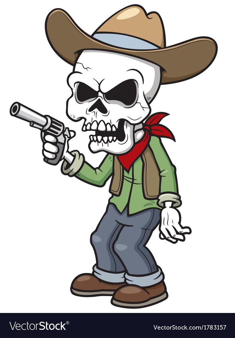 Zombie cowboy vector   Price: 1 Credit (USD $1)