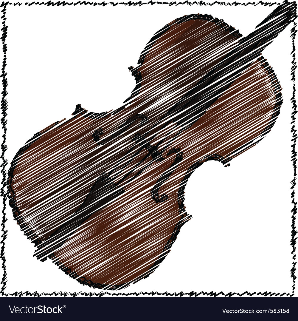 A cello vector | Price: 1 Credit (USD $1)