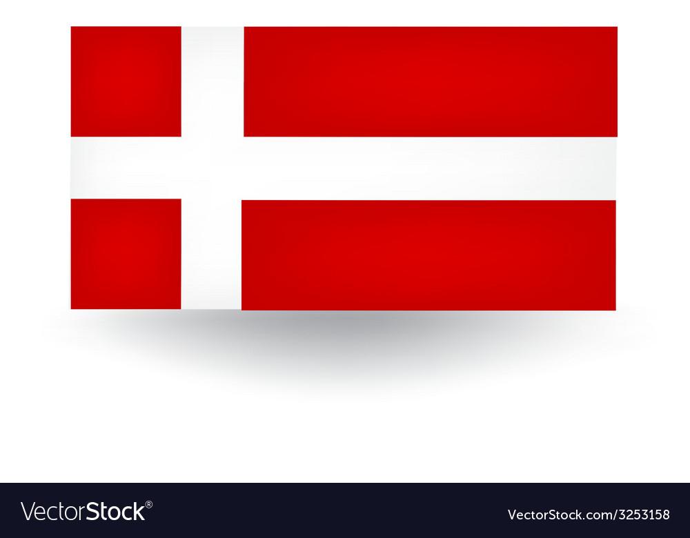 Danish flag vector | Price: 1 Credit (USD $1)