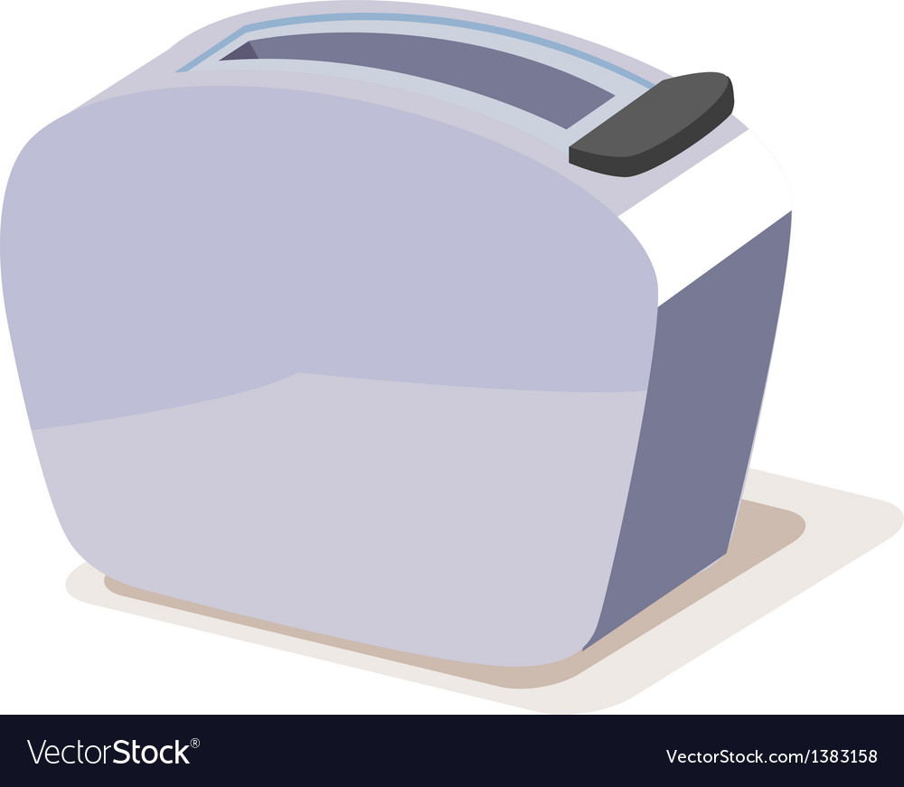 Icon toaster vector | Price: 1 Credit (USD $1)