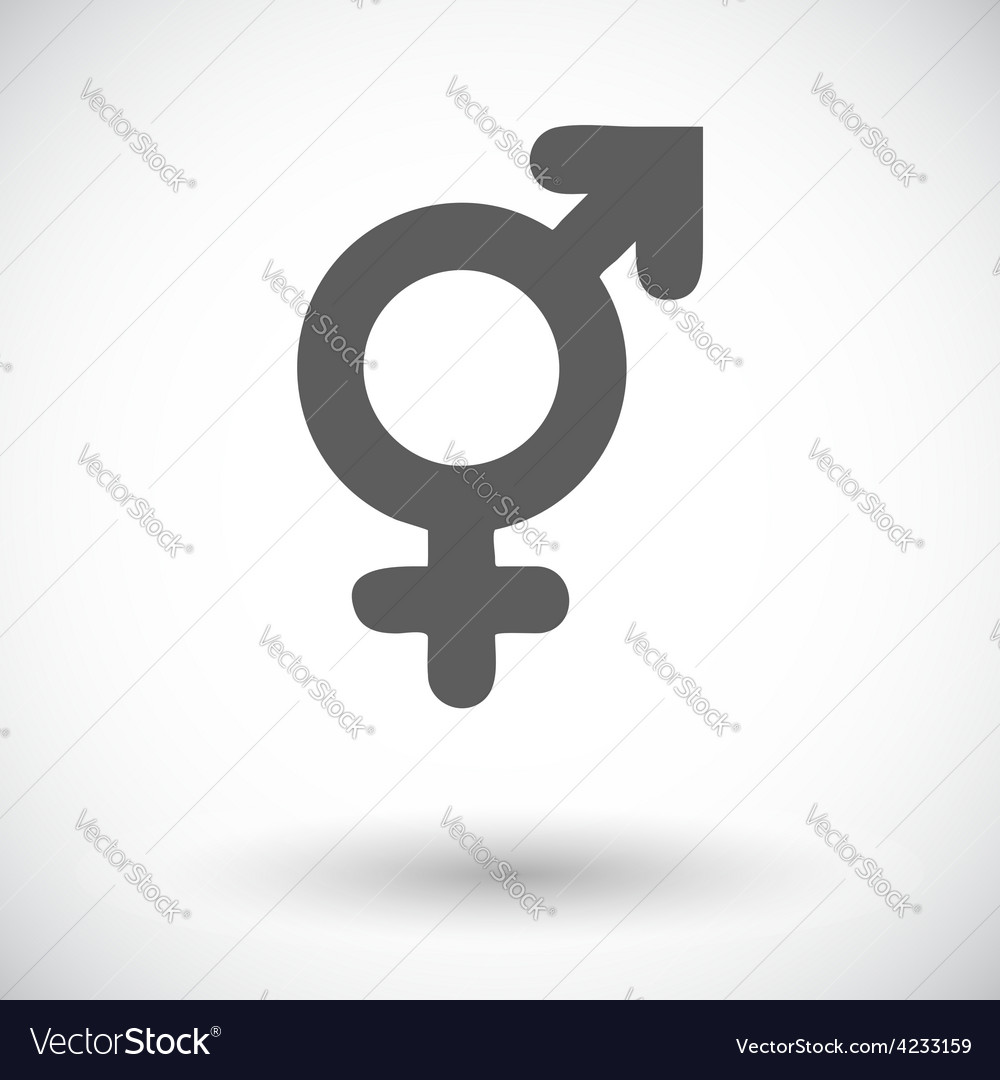 Bisexuals sign vector | Price: 1 Credit (USD $1)