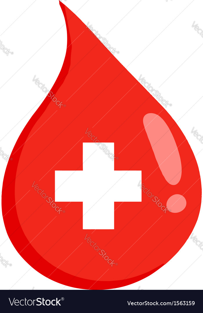Donate blood logo vector | Price: 1 Credit (USD $1)