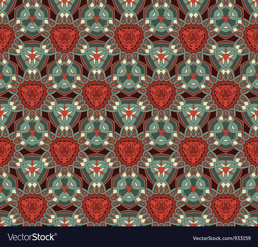 Pattern wallpaper seamless background vector   Price: 1 Credit (USD $1)