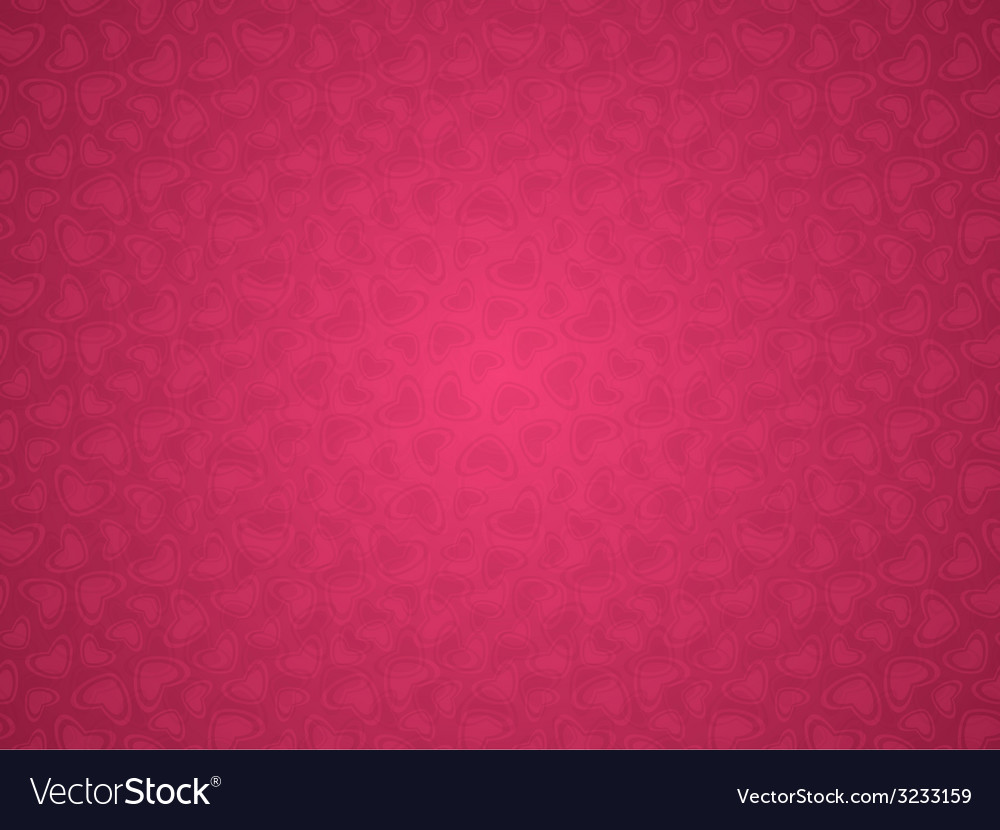 Valentines day background with hearts vector | Price: 1 Credit (USD $1)