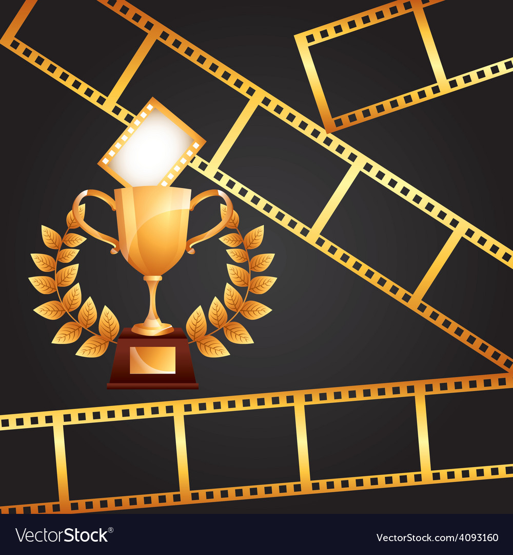 Film award vector | Price: 1 Credit (USD $1)