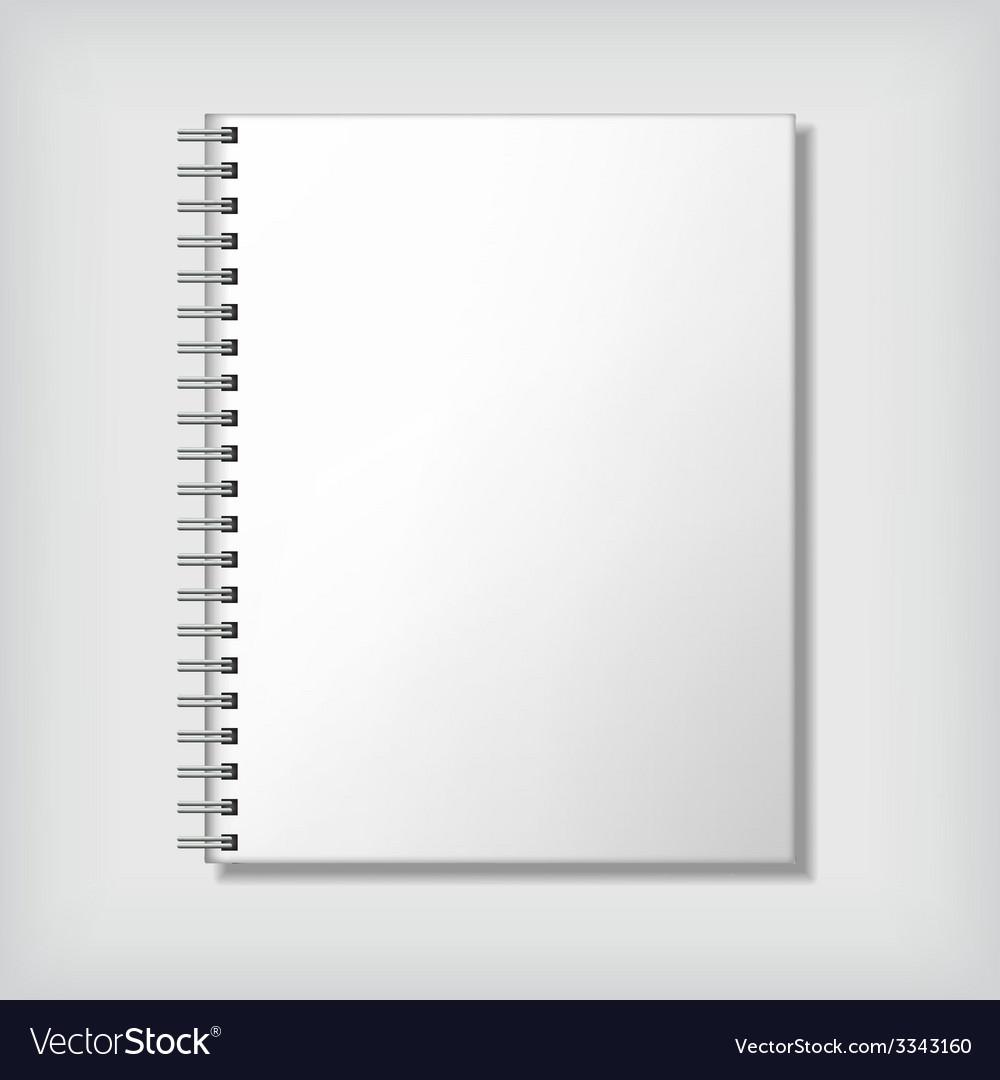 Notebook mockup vector | Price: 1 Credit (USD $1)