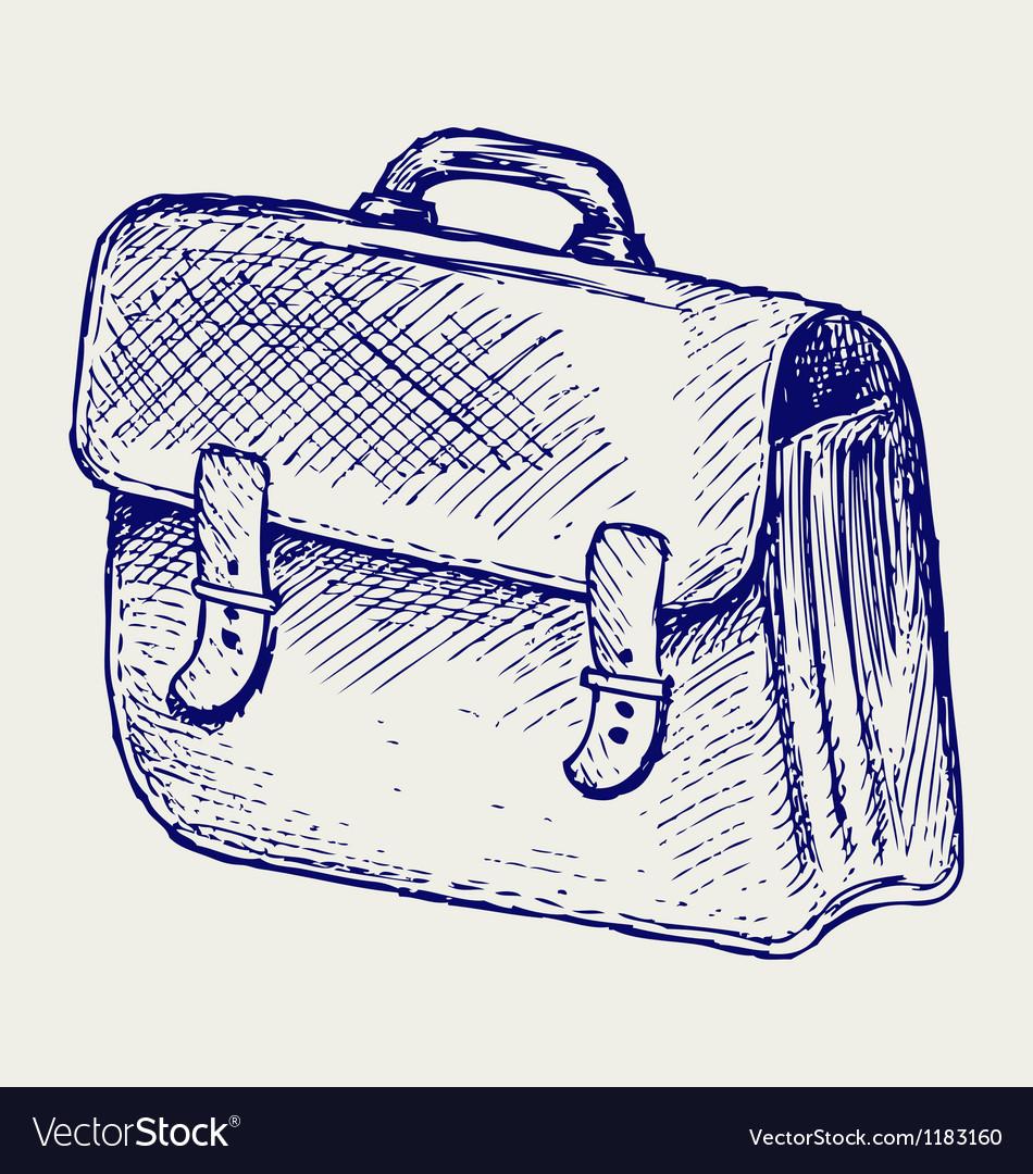 School bag vector | Price: 1 Credit (USD $1)