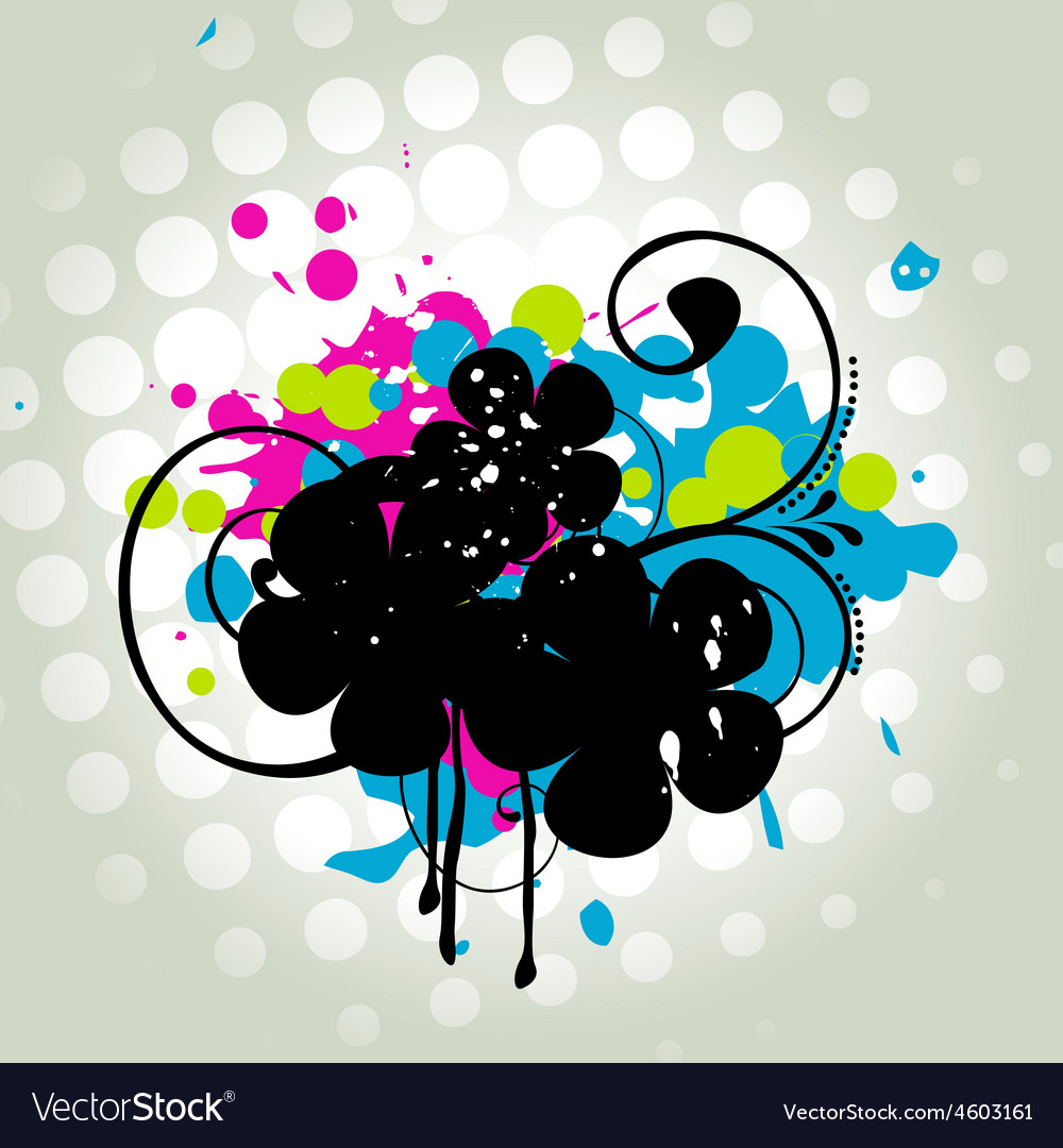 Abstract grungy design vector | Price: 1 Credit (USD $1)