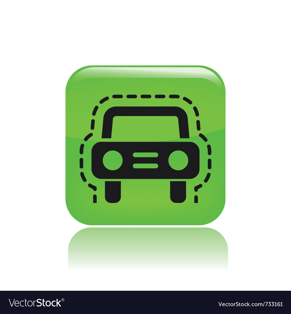 Car insurance icon vector | Price: 1 Credit (USD $1)