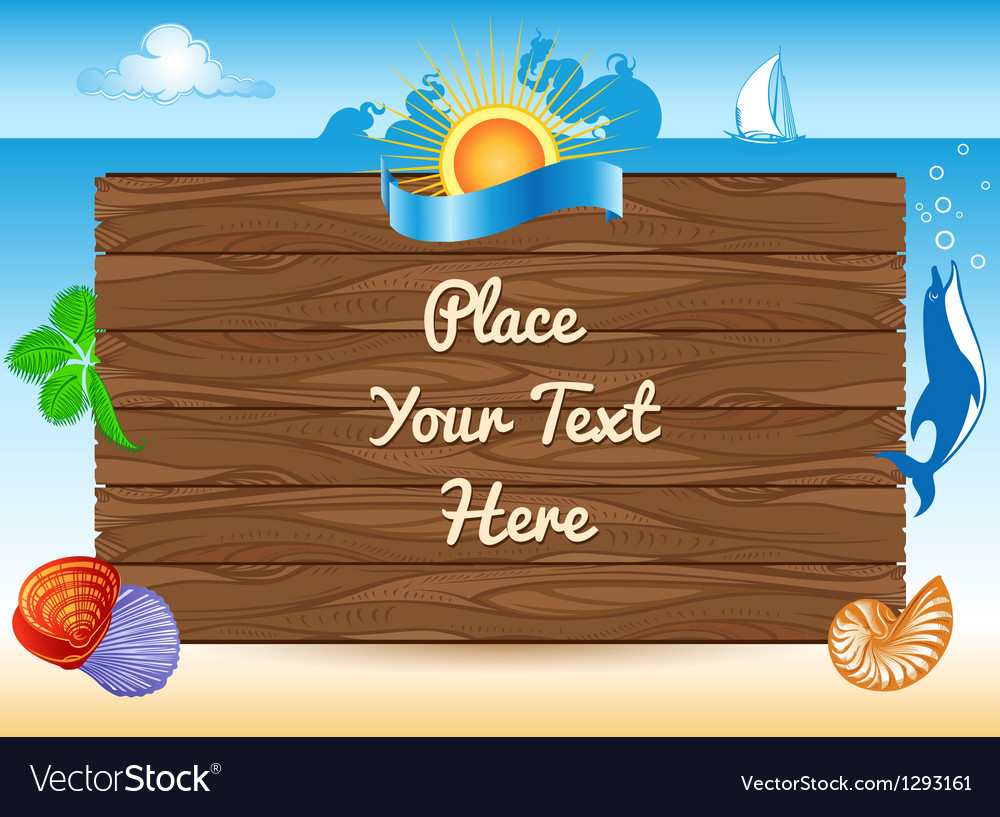 Sea travel background vector | Price: 1 Credit (USD $1)
