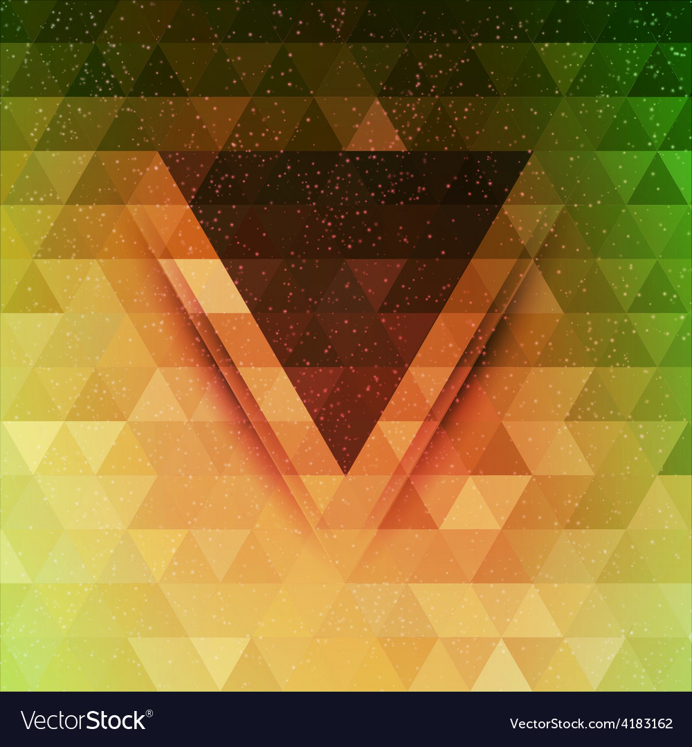 Abstract triangle future background vector | Price: 1 Credit (USD $1)