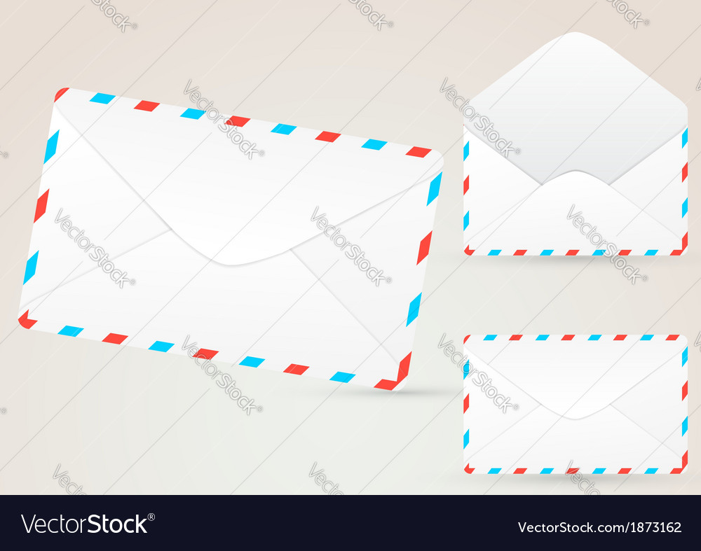 Envelope detailed - realistic vector | Price: 1 Credit (USD $1)