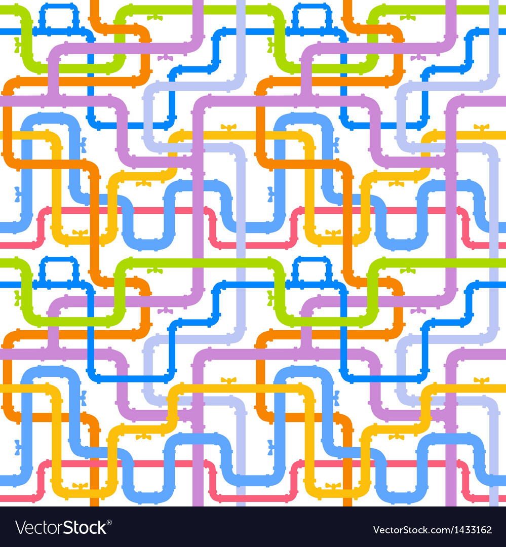 Pipes seamless vector | Price: 1 Credit (USD $1)