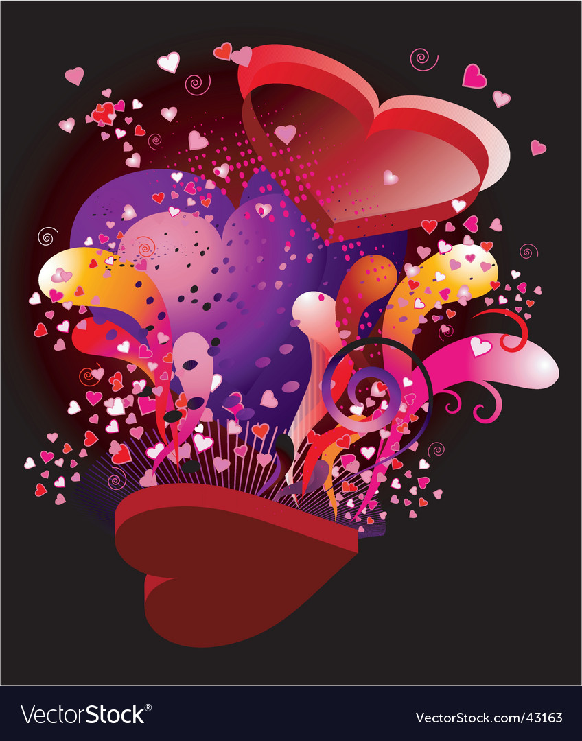 Valentine ka-boom vector | Price: 1 Credit (USD $1)
