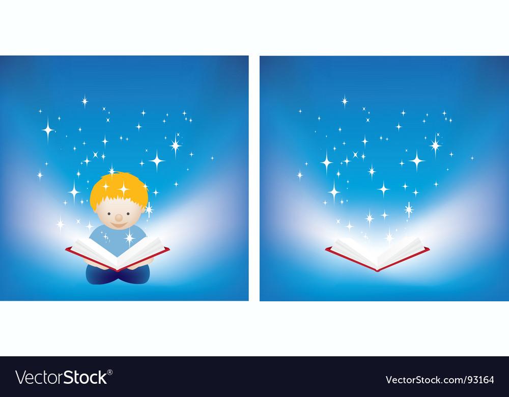 Reading magic vector | Price: 1 Credit (USD $1)