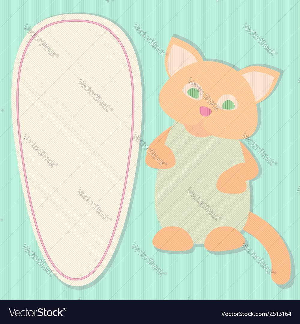 Textured paper cut ellipse frame vector | Price: 1 Credit (USD $1)