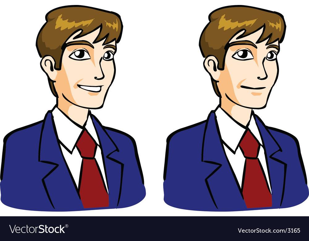 Businessman vector | Price: 3 Credit (USD $3)