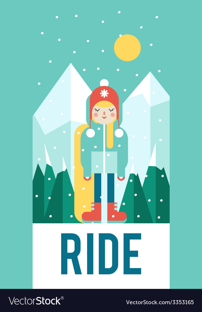 Pattern for your phone case with nice snowboarder vector | Price: 1 Credit (USD $1)
