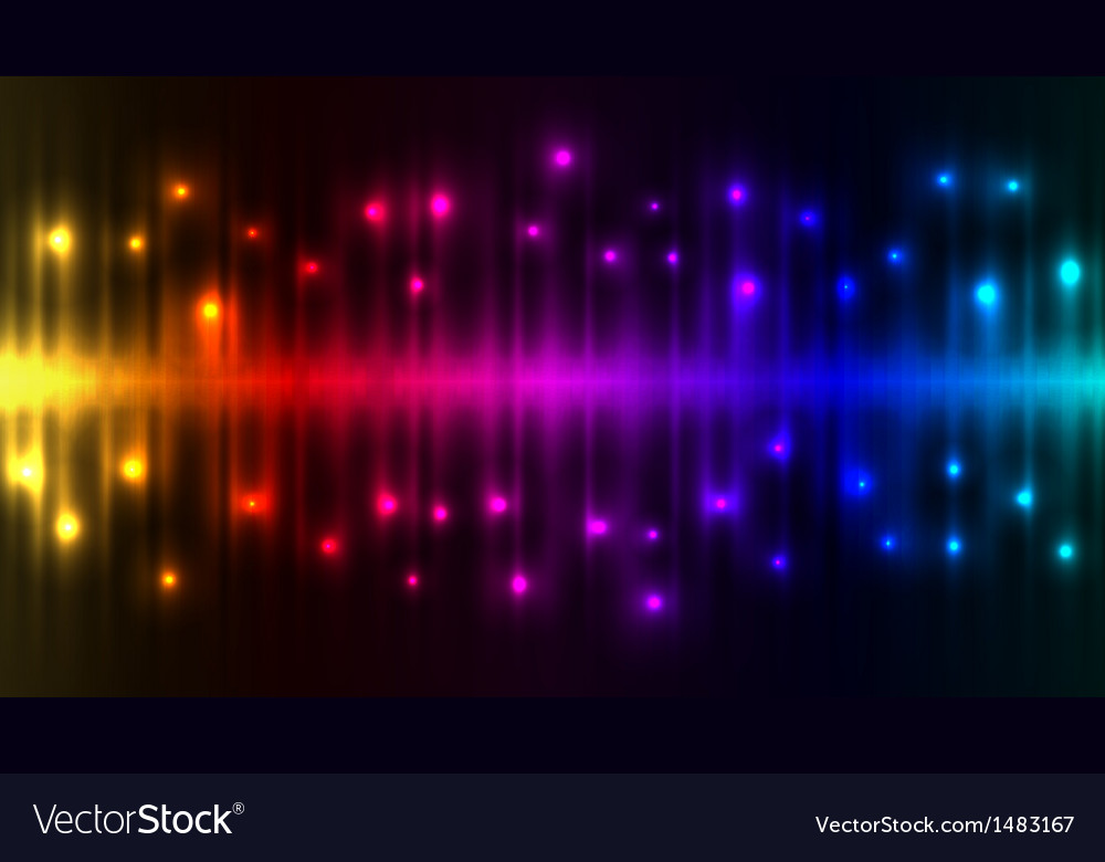 Abstract color lights background vector | Price: 1 Credit (USD $1)