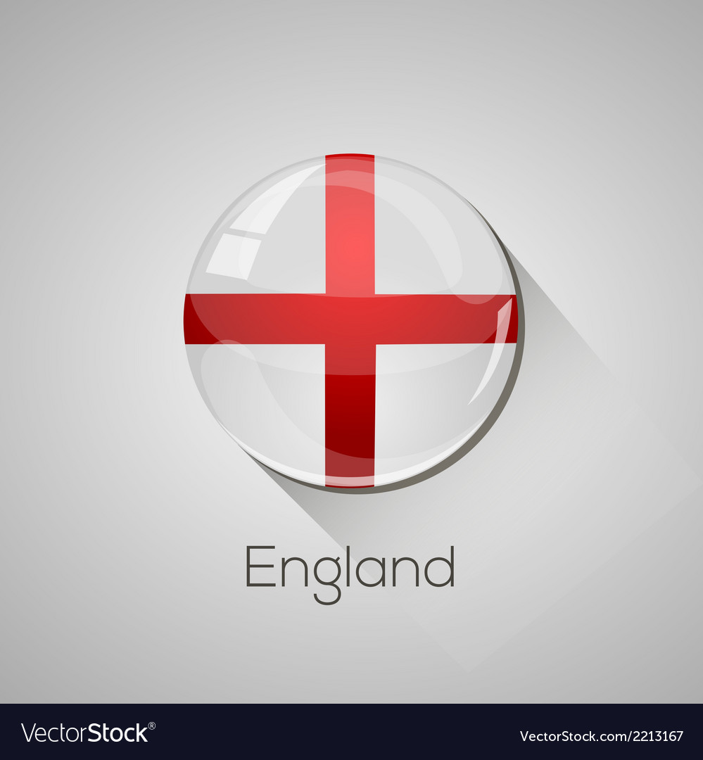 European flags set - england vector | Price: 1 Credit (USD $1)
