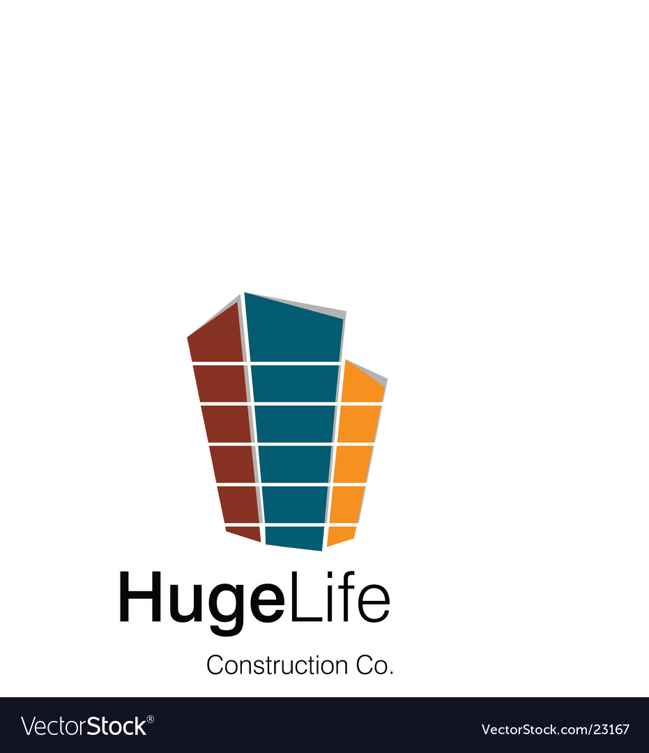 Huge life logo vector | Price: 1 Credit (USD $1)