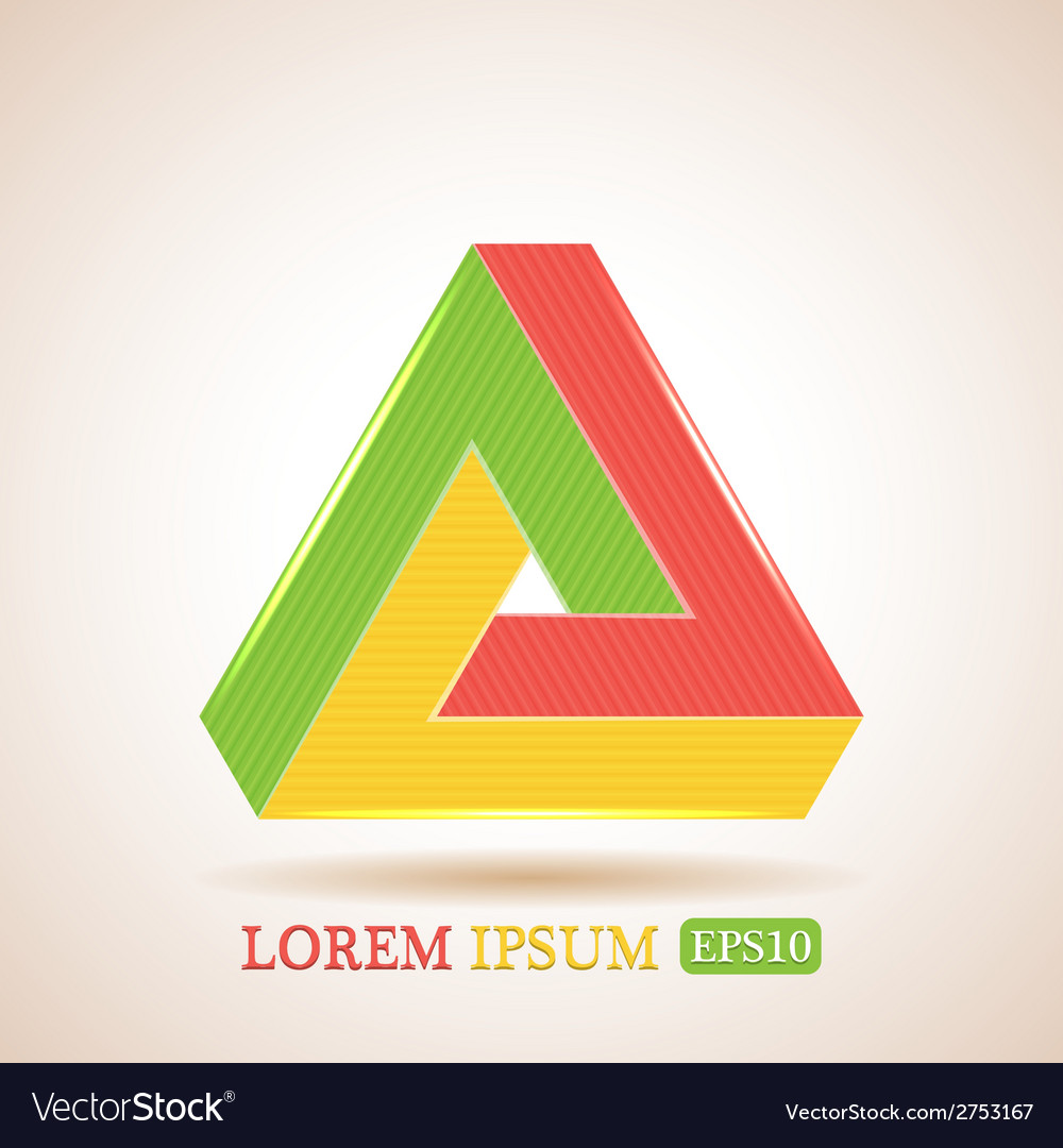 Impossible triangle vector   Price: 1 Credit (USD $1)