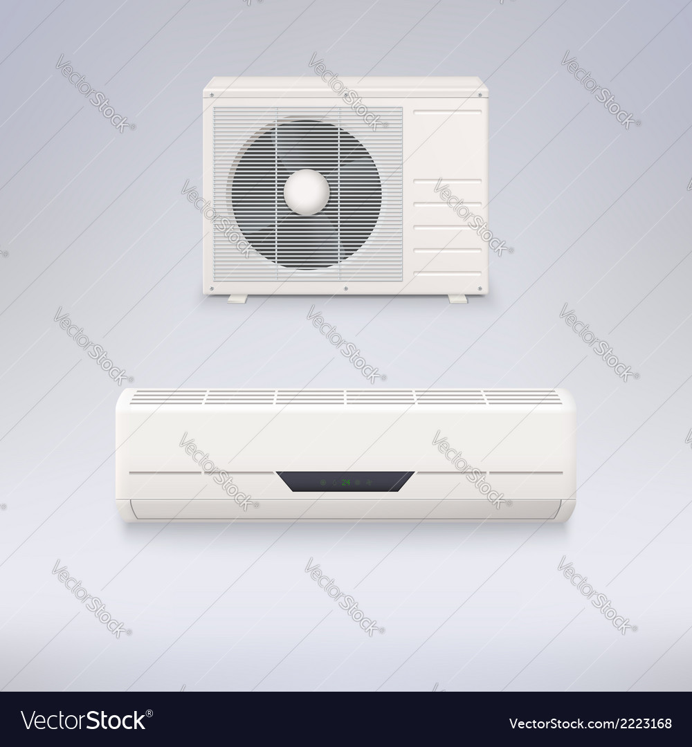 Air conditioner vector | Price: 1 Credit (USD $1)