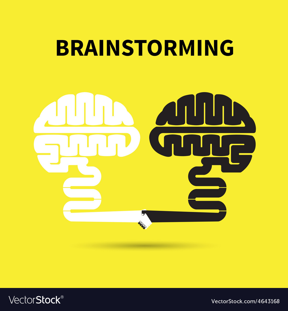 Brainstorming concept vector | Price: 1 Credit (USD $1)