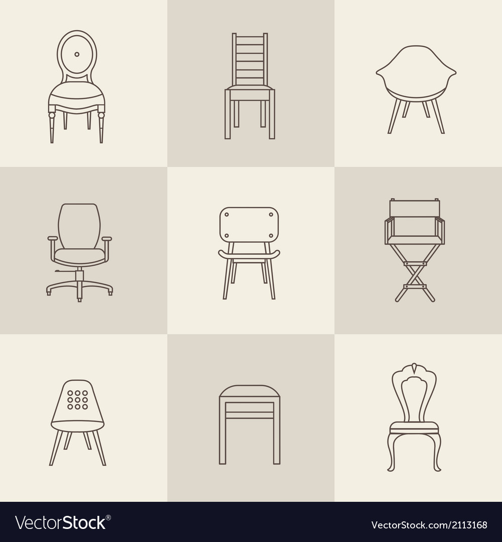Chairs vector | Price: 1 Credit (USD $1)