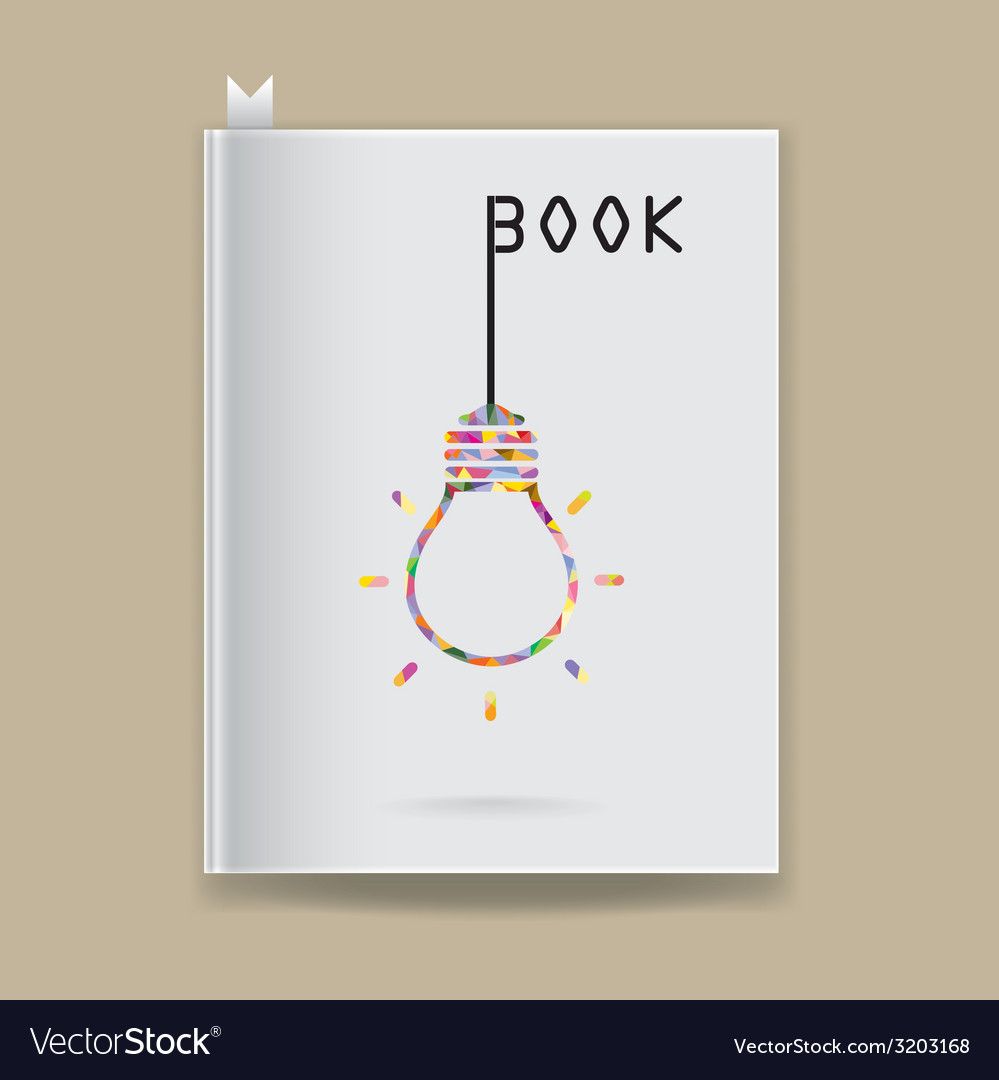 Creative book cover vector | Price: 1 Credit (USD $1)