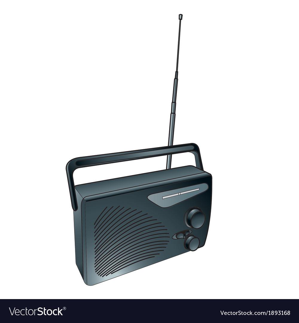 Radio and transistors vector | Price: 1 Credit (USD $1)