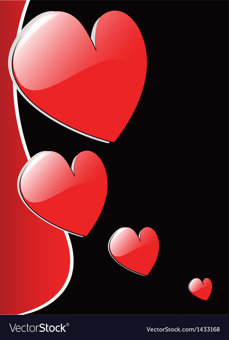 Valentines hearts eps 8 vector | Price: 1 Credit (USD $1)