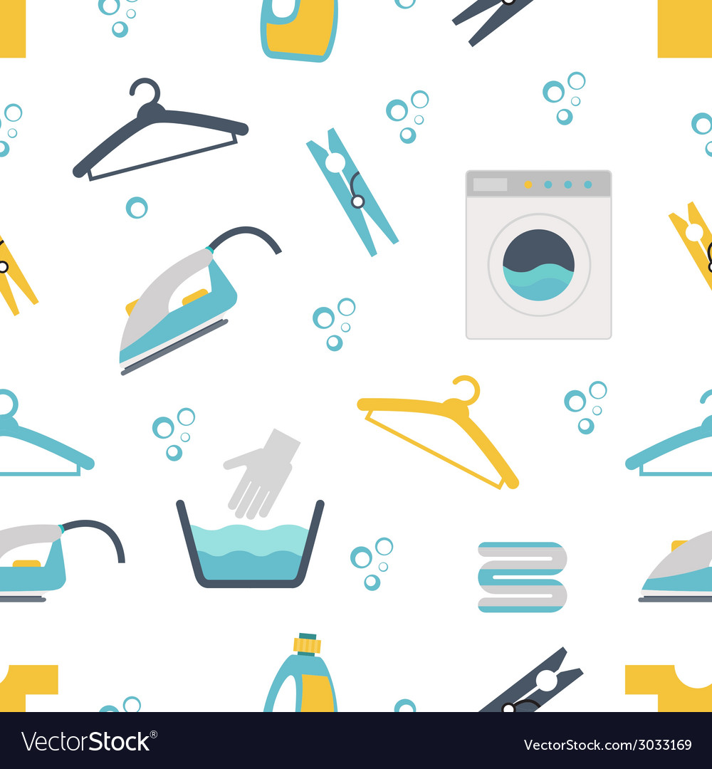 Laundry themed graphics vector | Price: 1 Credit (USD $1)