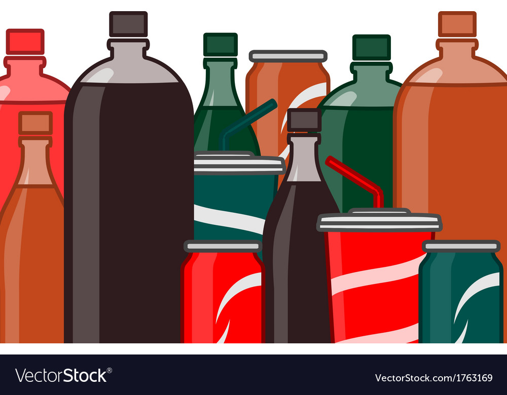 Soda vector | Price: 1 Credit (USD $1)