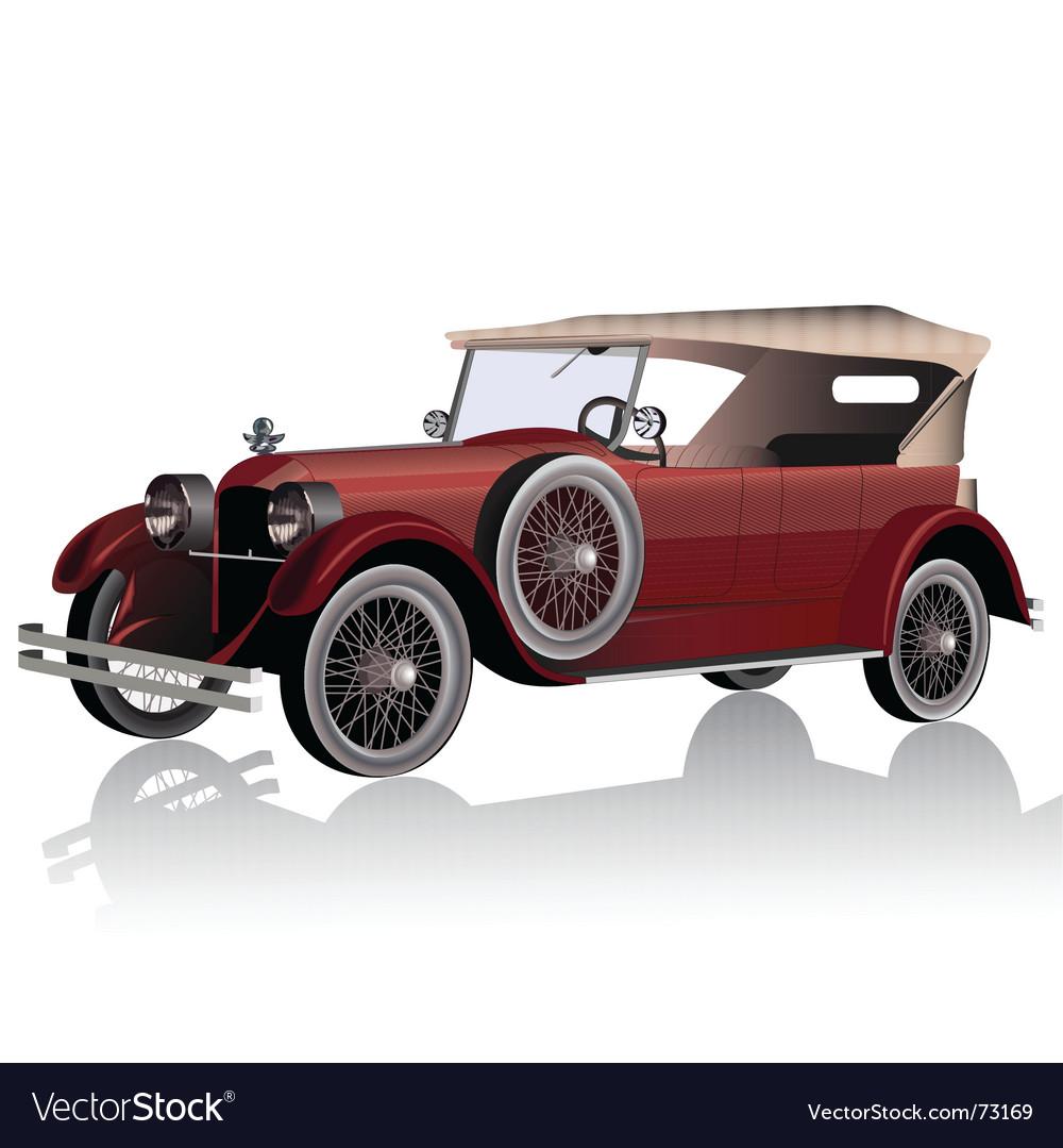 Vintage car vector   Price: 3 Credit (USD $3)